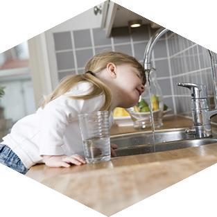 Gesundes Wasser für die ganze Familie